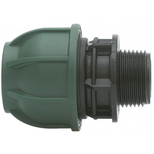 Compression adaptor for PE pipe Irritec /male threaded 25x½""
